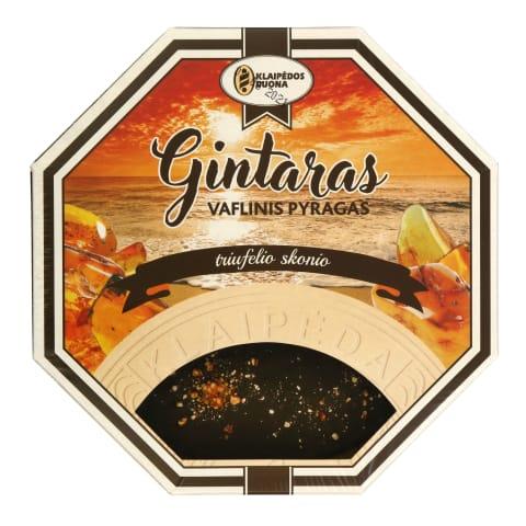 Vaflinis pyragas GINTARAS, 250 g
