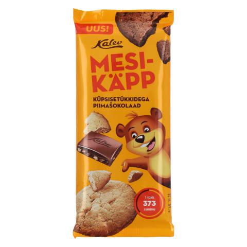 Piimasokolaad küpsisetükkidega Mesikäpp 100g