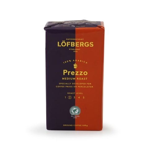 Maltā kafija Lofbergs Prezzo 500g