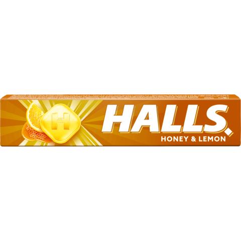 Ledenes Halls medus citrona 33,5g