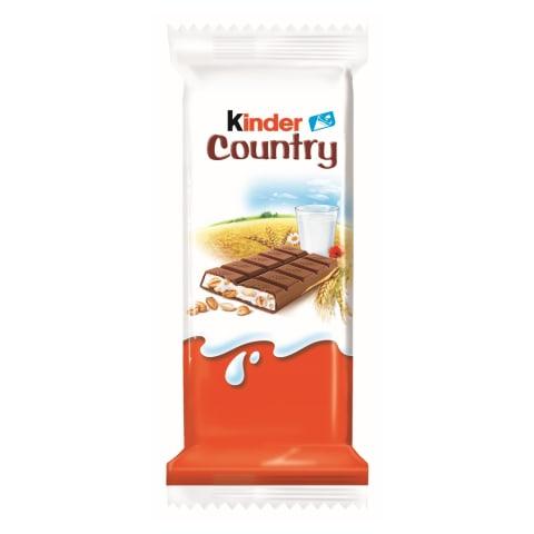 Batoniņš Kinder Country šokolādes 24g