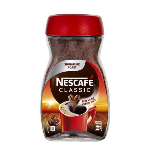 Šķīstošā kafija Nescafe Classic 100g