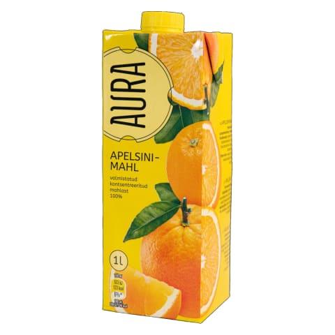 Apelsinimahl Aura 1l