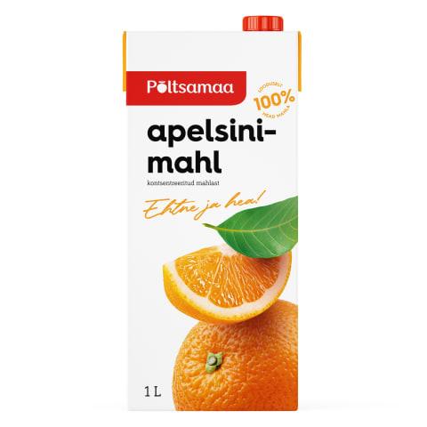 Mahl apelsini Põltsamaa 1l