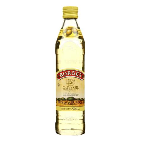 Alyvuogių aliejus BORGES EXTRA LIGHT, 0,5l