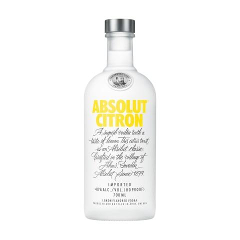 Degvīns Absolut Citron 40% 0,7l