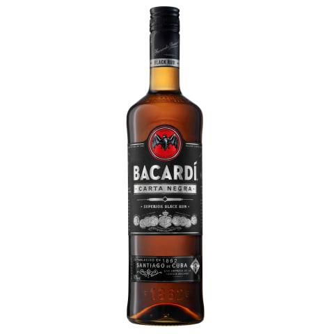 Rums Bacardi Carta Negra 40% 1l