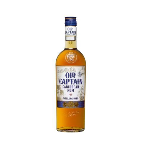 Rumm Old Captain Well Matured 0,7l
