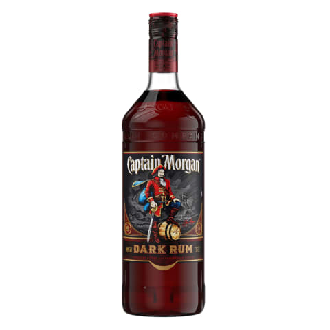Rumm Captain Morgan Dark Rum 40% 1l