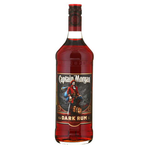 Romas CAPTAIN MORGAN BLACK, 40 %, 1 l