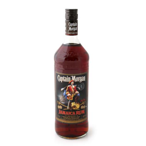Rums Captain Morgan Black 40% 1l