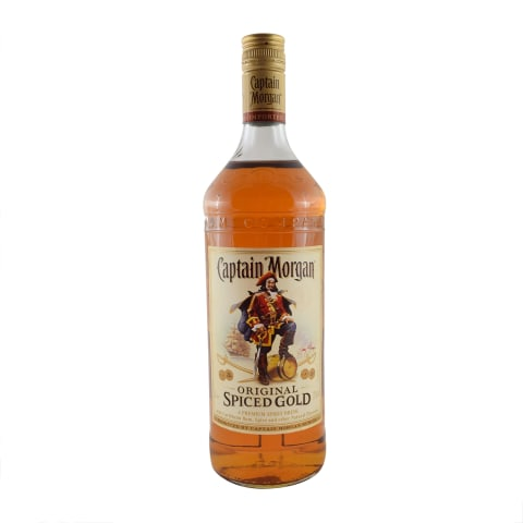Romas CAPTAIN MORGAN SPICED GOLD, 35 %, 1 l