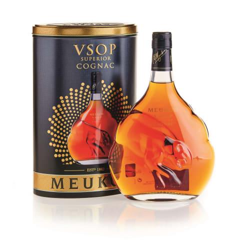 Konjaks Meukow VSOP 40% 0,7l metāla kārbā