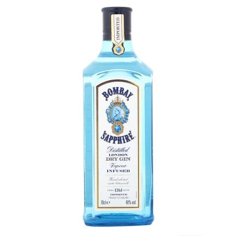 Džins Bombay Sapphire 40% 0,7l