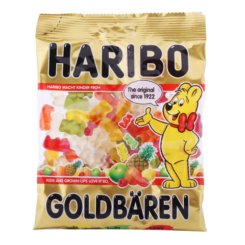 Želejkonfektes Haribo Goldbaren 200g