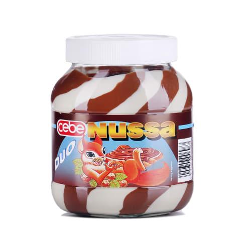 Šokolādes riekstu krēms Nussa Duo 750g