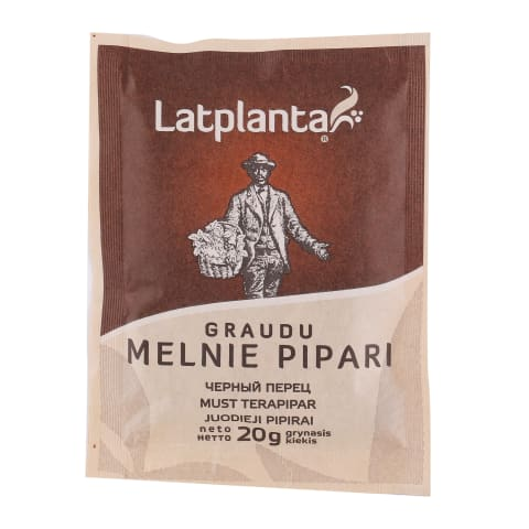 Melnie pipari Latplanta graudos 20g