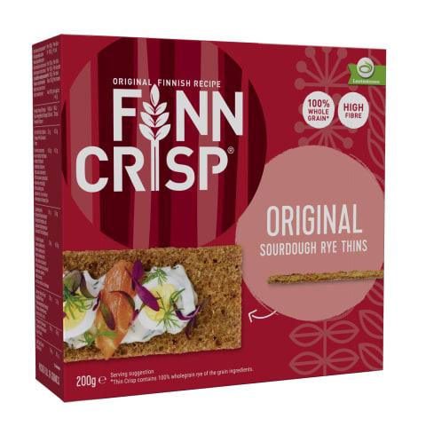 Näkileib rukki Finn Crisp 200g