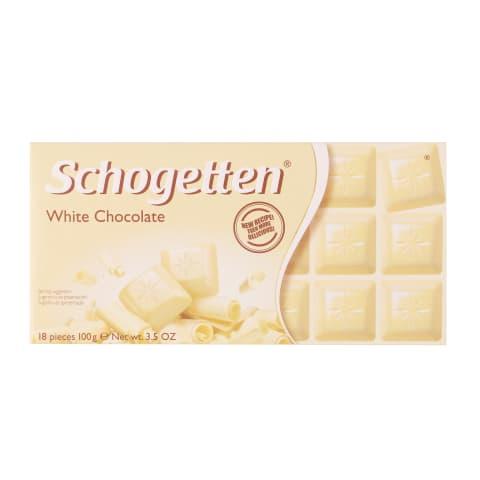 Baltā šokolāde Schogetten 100g