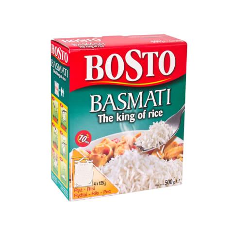 Basmati riis Bosto 4x125g