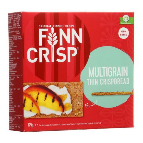 Įv. grūdų duonos traškučiai FINN CRISP, 175g
