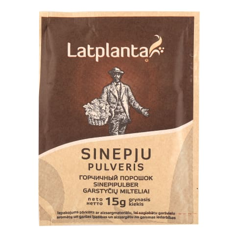 Sinepju pulveris Latplanta 15g
