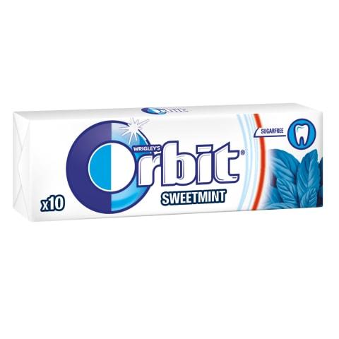 Mėtų, sk.becukr.kramtomoji guma, ORBIT, 14g