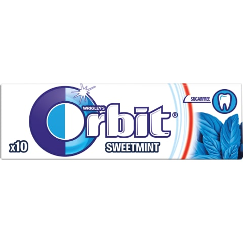 Košļājamā gumija Orbit Sweet Mint 14g