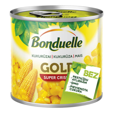 Kukurūza Bonduelle konservēta 340g