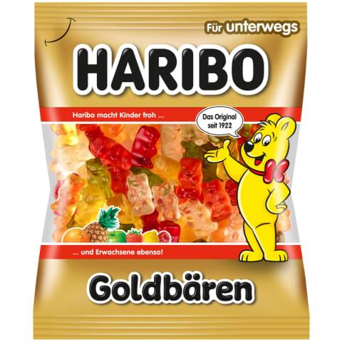 Želė saldainiai HARIBO GOLDBAREN, 100g