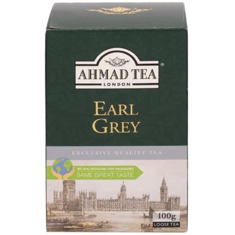 Melnā tēja Ahmad Earl Grey 100g