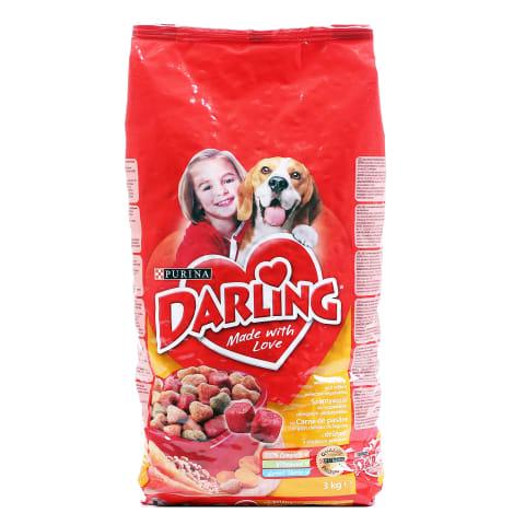 Sausas šunų ėdalas su vištiena DARLING, 3kg