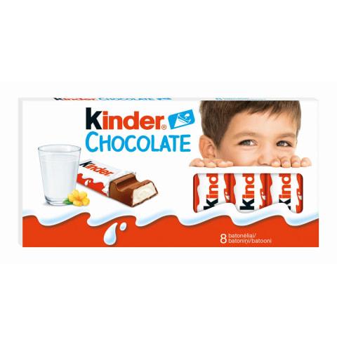 Piena šokolāde Kinder 8gab.100g