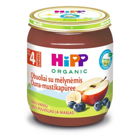 Biezenis Hipp mellenes ar āboliem BIO 125g