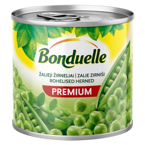 Konservēti zaļie zirnīši Bonduelle 400g/265g