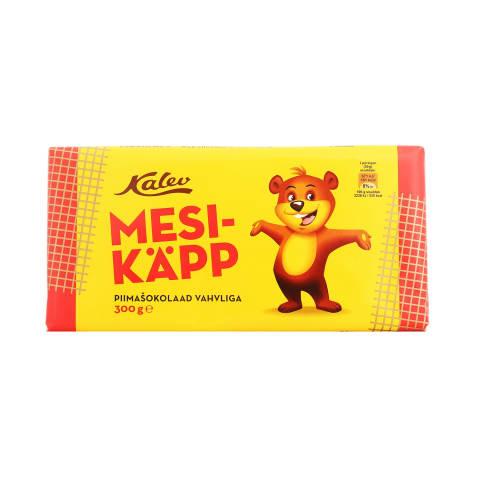 Piimašokolaad vahvliga Kalev Mesikäpp 300g