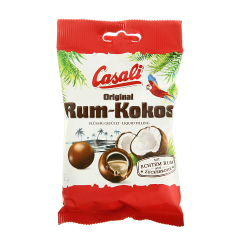 Dražejas Casali ar ruma un kokosa pild. 100g