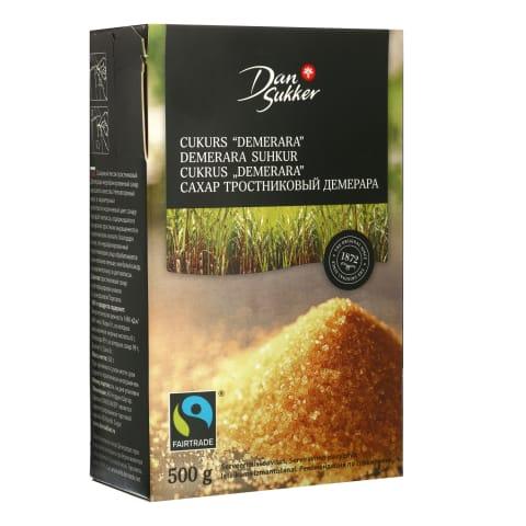 Cukrus Demerara DAN SUKKER, 500g