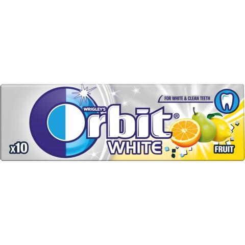 Košļājamā gumija Orbit White augļu 14g