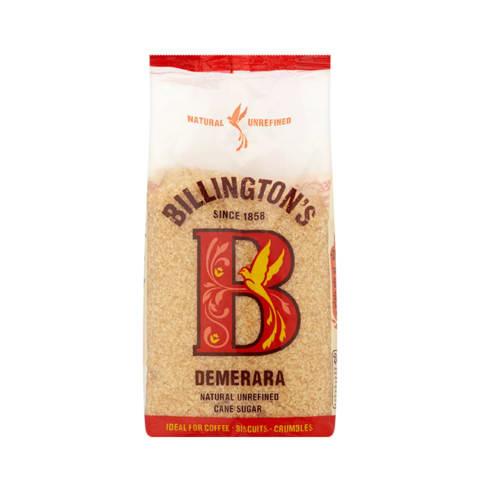 Cukranendrių cukrus DEMERARA BILLINGTONS,500g