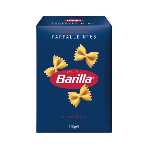 Makaronai BARILLA FARFALLE, 500g