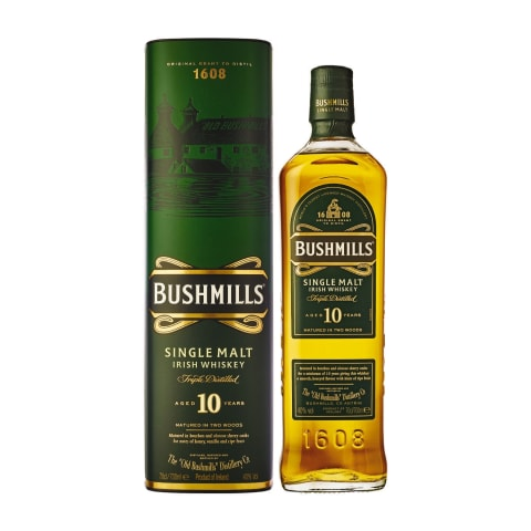 Visk.BUSHMILLS SINGLE MALT 10 YO, 40 %, 0,7 l