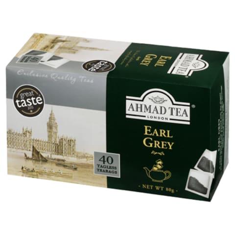 Melnā tēja Ahmad Earl Grey 40x2g