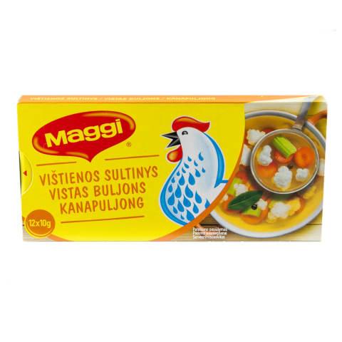 Vištienos sultinys MAGGI, 12 X 10g, 120g