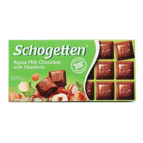 Šokolāde Schogetten ar lazdu riekstiem 100g