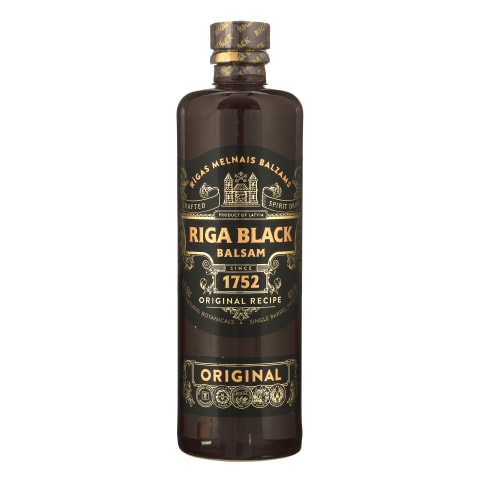 Spirit.gėr.RIGA BLACK BALSAM, 45 %, 0,5 l