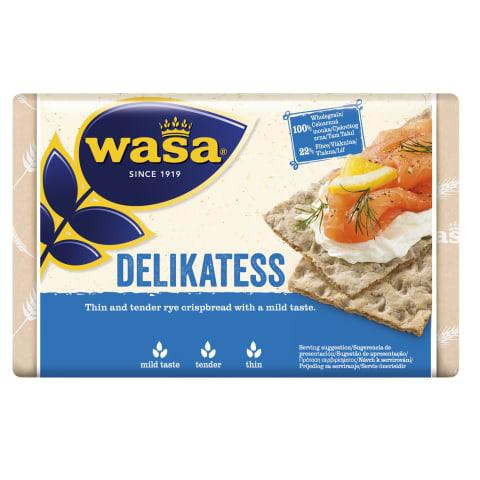Traškios ruginės duonelės WASA, 270 g