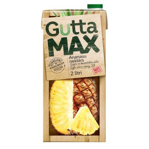 Nektārs Gutta Max ananasu 2l