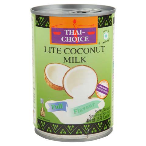 Kookospiim väherasvane Thai Choice 400ml