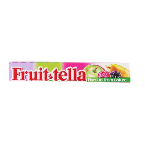 Košļ. konfektes Fruittella Summer Garden 41g